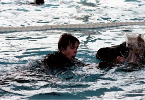 1983 1987 B Esk 103 Verkbat Boeselager wedstrijden Fysieke testen Roeien en zwemmen. Inz. Wmr I Jan Pol 7