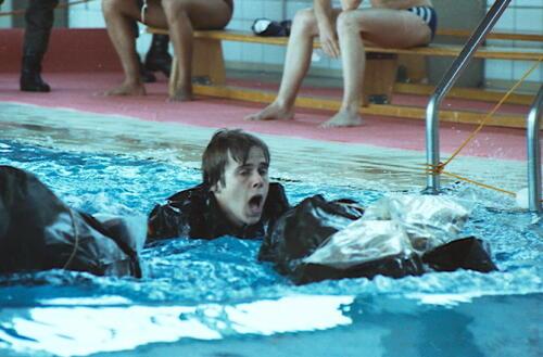 1983 1987 B Esk 103 Verkbat Boeselager wedstrijden Fysieke testen Roeien en zwemmen. Inz. Wmr I Jan Pol 7a