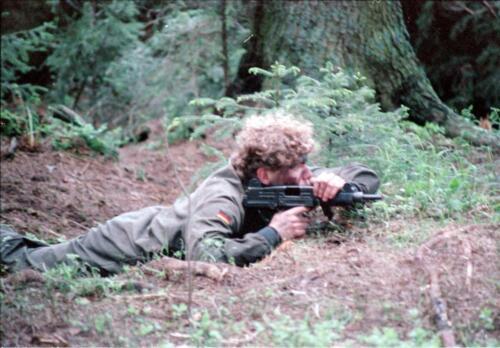 1983 1987 B Esk 103 Verkbat Boeselager wedstrijden Fysieke testen. Inz. Wmr I Jan Pol 64