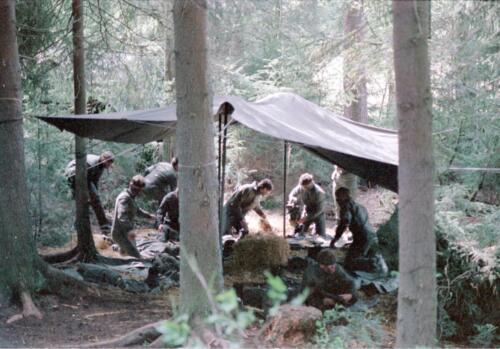 1983 1987 B Esk 103 Verkbat Boeselager wedstrijden Fysieke testen. Inz. Wmr I Jan Pol 65