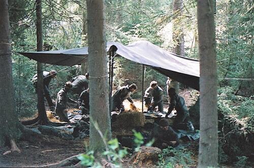 1983 1987 B Esk 103 Verkbat Boeselager wedstrijden Fysieke testen. Inz. Wmr I Jan Pol 96