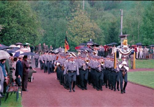 1983 1987 B Esk 103 Verkbat Boeselager wedstrijden. Defile. Inz. Wmr I Jan Pol 4