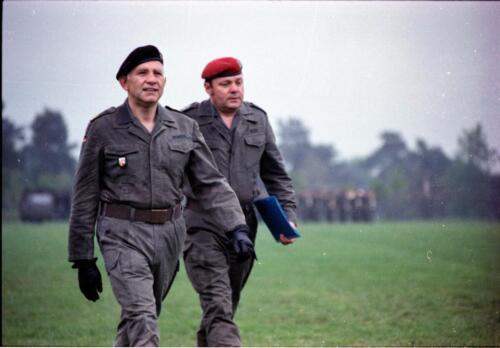 1983 1987 B Esk 103 Verkbat Boeselager wedstrijden. Opstelling. Inz. Wmr I Jan Pol 28