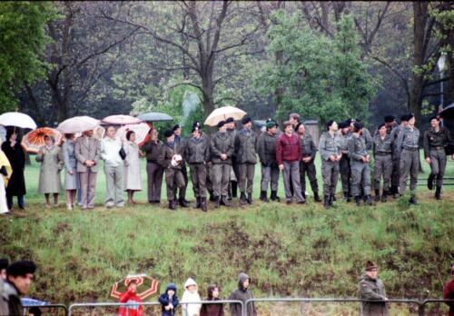1983 1987 B Esk 103 Verkbat Boeselager wedstrijden. Opstelling. Inz. Wmr I Jan Pol 4