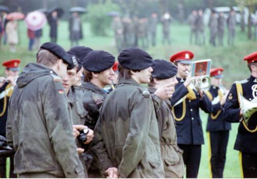 1983 1987 B Esk 103 Verkbat Boeselager wedstrijden. Opstelling. Inz. Wmr I Jan Pol 6
