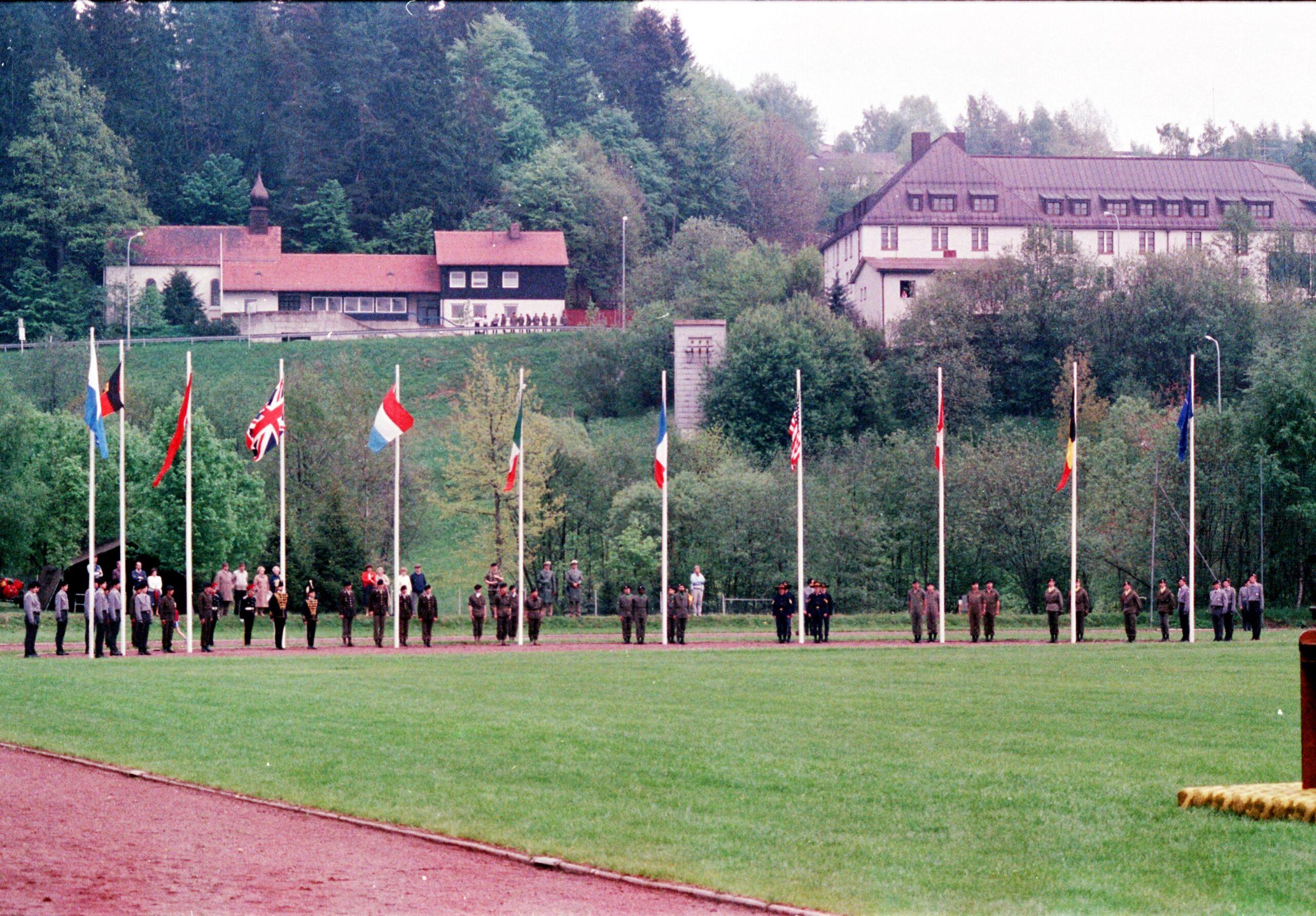 1983 1987 B Esk 103 Verkbat Boeselager wedstrijden. Opstelling. Inz. Wmr I Jan Pol 7