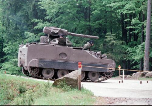 1983 1987 B Esk 103 Verkbat Boeselager. Behendigheidstesten. Inz. Wmr I Jan Pol 1