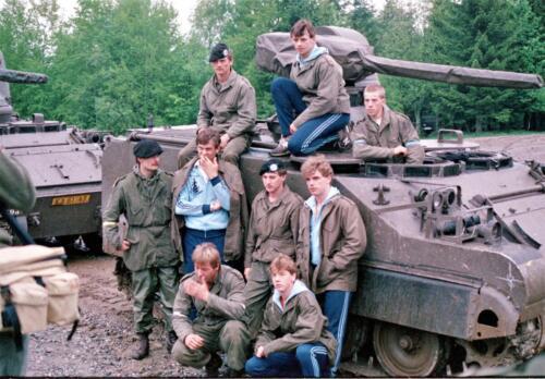 1983 1987 B Esk 103 Verkbat Boeselager. Behendigheidstesten. Inz. Wmr I Jan Pol 2