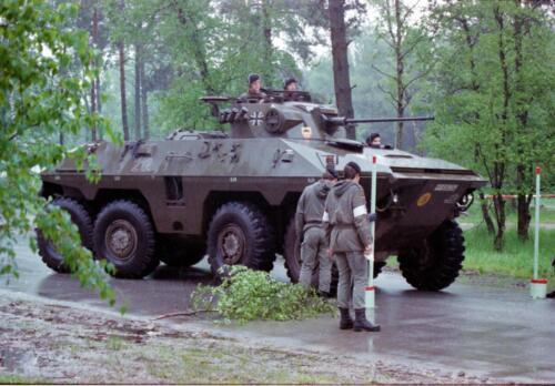 1983 1987 B Esk 103 Verkbat Boeselager. Behendigheidstesten. Inz. Wmr I Jan Pol 3