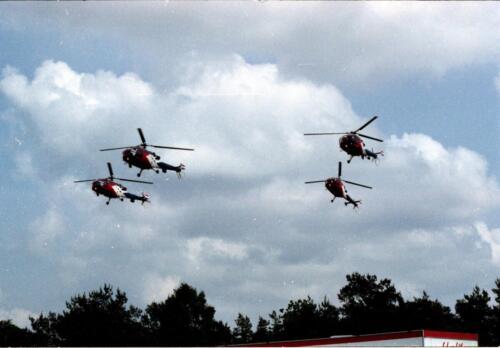 1983 1987 B Esk 103 Verkbat Boeselager. Luchtshow. Inz. Wmr I Jan Pol 1