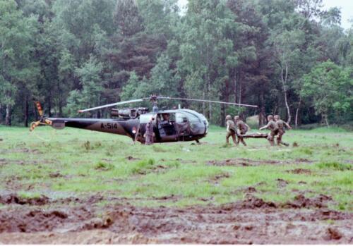 1983 1987 B Esk 103 Verkbat Boeselager. Luchtshow. Inz. Wmr I Jan Pol 14