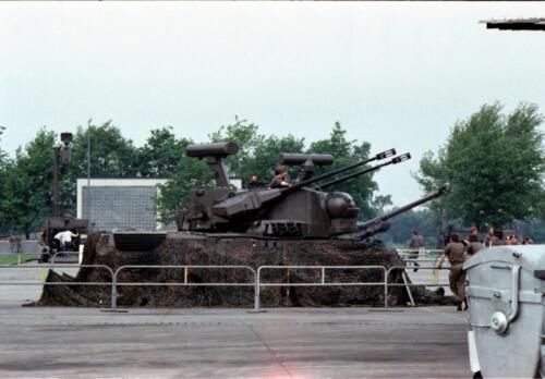 1983 1987 B Esk 103 Verkbat Boeselager. Materieel show. Inz. Wmr I Jan Pol 13