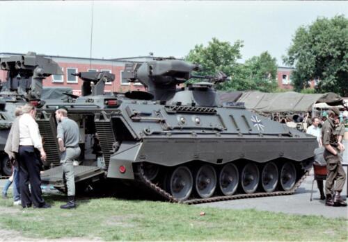 1983 1987 B Esk 103 Verkbat Boeselager. Materieel show. Inz. Wmr I Jan Pol 14