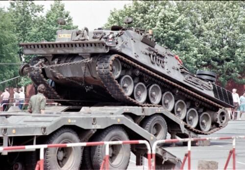 1983 1987 B Esk 103 Verkbat Boeselager. Materieel show. Inz. Wmr I Jan Pol 15