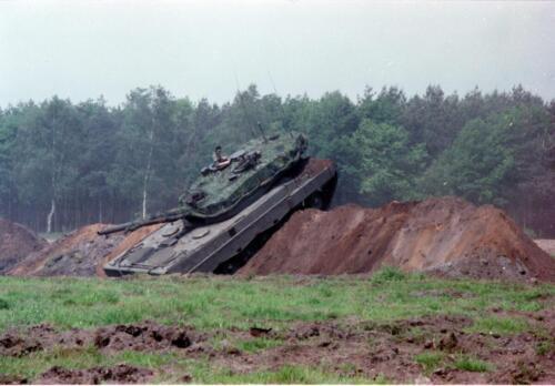1983 1987 B Esk 103 Verkbat Boeselager. Materieel show. Inz. Wmr I Jan Pol 17