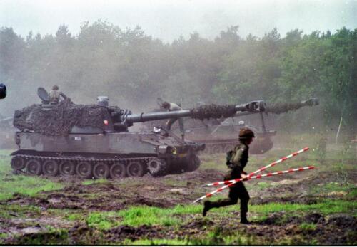 1983 1987 B Esk 103 Verkbat Boeselager. Materieel show. Inz. Wmr I Jan Pol 20