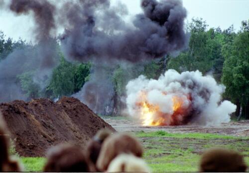 1983 1987 B Esk 103 Verkbat Boeselager. Materieel show. Inz. Wmr I Jan Pol 22