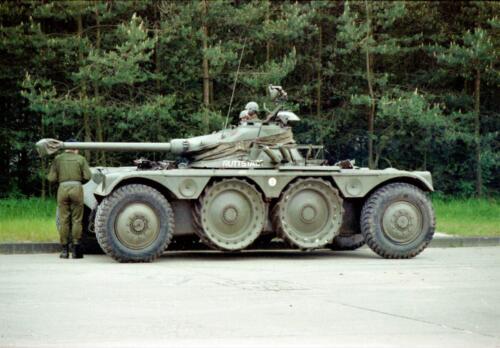 1983 1987 B Esk 103 Verkbat Boeselager. Materieel show. Inz. Wmr I Jan Pol 29