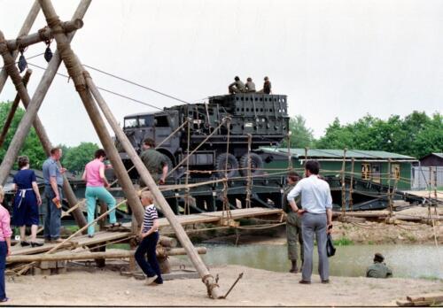 1983 1987 B Esk 103 Verkbat Boeselager. Materieel show. Inz. Wmr I Jan Pol 36