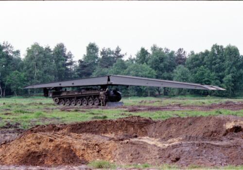1983 1987 B Esk 103 Verkbat Boeselager. Materieel show. Inz. Wmr I Jan Pol 4