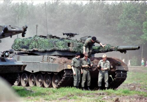 1983 1987 B Esk 103 Verkbat Boeselager. Materieel show. Inz. Wmr I Jan Pol 5