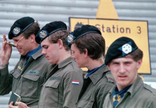 1983 1987 B Esk 103 Verkbat Boeselager. Overig Boeselager. Inz. Wmr I Jan Pol 9