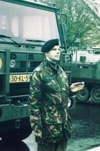 1983 1987 B Esk 103 Verkbat Close ups van BurgerHuzaren. Inz. Wmr I Jan Pol 1