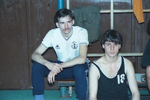 1983 1987 B Esk 103 Verkbat Close ups van BurgerHuzaren. Inz. Wmr I Jan Pol 10