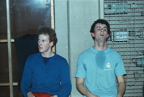 1983 1987 B Esk 103 Verkbat Close ups van BurgerHuzaren. Inz. Wmr I Jan Pol 23