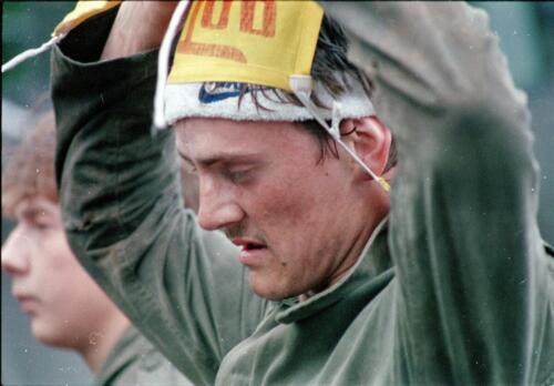 1983 1987 B Esk 103 Verkbat Close ups van BurgerHuzaren. Inz. Wmr I Jan Pol 34