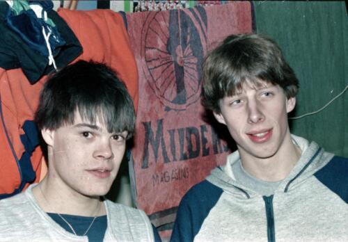 1983 1987 B Esk 103 Verkbat Close ups van BurgerHuzaren. Inz. Wmr I Jan Pol 40