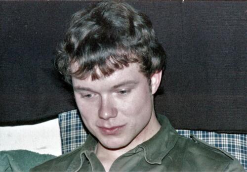 1983 1987 B Esk 103 Verkbat Close ups van BurgerHuzaren. Inz. Wmr I Jan Pol 41