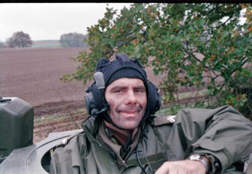 1983 1987 B Esk 103 Verkbat Close ups van BurgerHuzaren. Inz. Wmr I Jan Pol 5