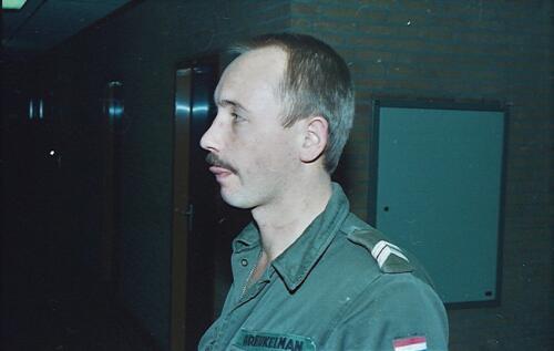 1983 1987 B Esk 103 Verkbat Close ups van BurgerHuzaren. Inz. Wmr I Jan Pol 8