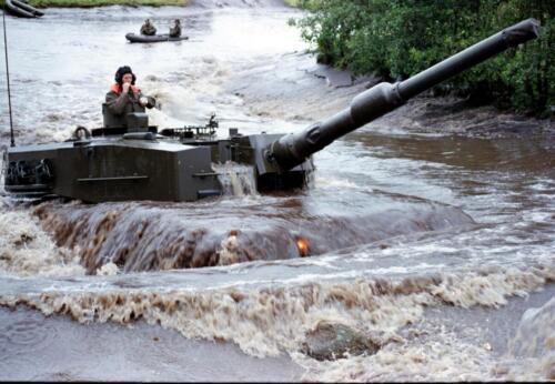 1983 1987 B Esk 103 Verkbat Diepwaden met Leopard II Inz. Wmr I Jan Pol 10