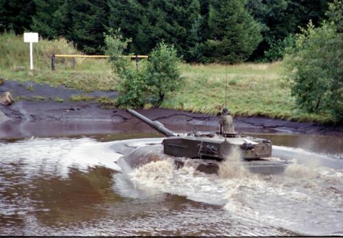 1983 1987 B Esk 103 Verkbat Diepwaden met Leopard II Inz. Wmr I Jan Pol 3