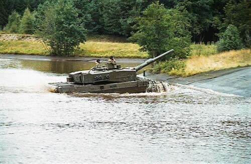 1983 1987 B Esk 103 Verkbat Diepwaden met Leopard II Inz. Wmr I Jan Pol 4