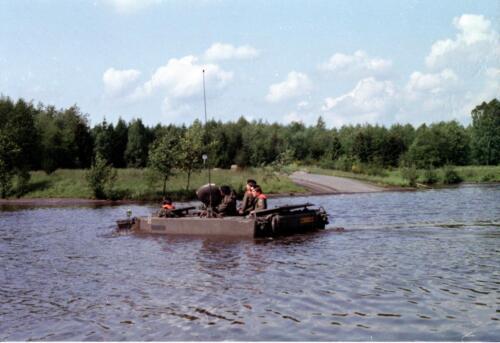 1983 1987 B Esk 103 Verkbat Diepwaden met Leopard II Inz. Wmr I Jan Pol 5