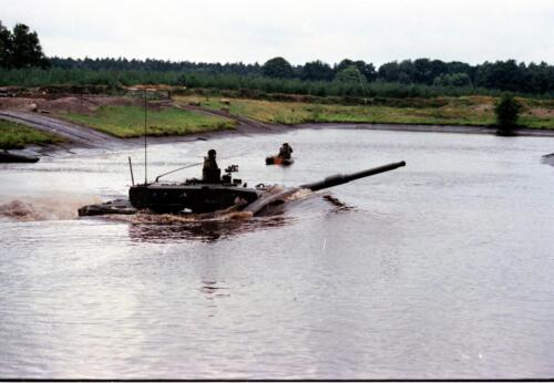 1983 1987 B Esk 103 Verkbat Diepwaden met Leopard II Inz. Wmr I Jan Pol 5b