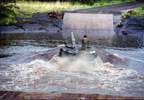 1983 1987 B Esk 103 Verkbat Diepwaden met Leopard II Inz. Wmr I Jan Pol 6