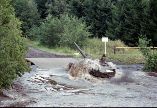 1983 1987 B Esk 103 Verkbat Diepwaden met Leopard II Inz. Wmr I Jan Pol 7