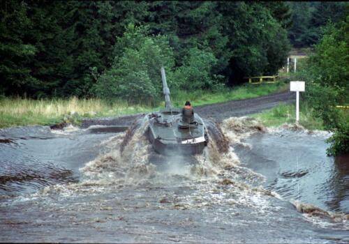 1983 1987 B Esk 103 Verkbat Diepwaden met Leopard II Inz. Wmr I Jan Pol 8