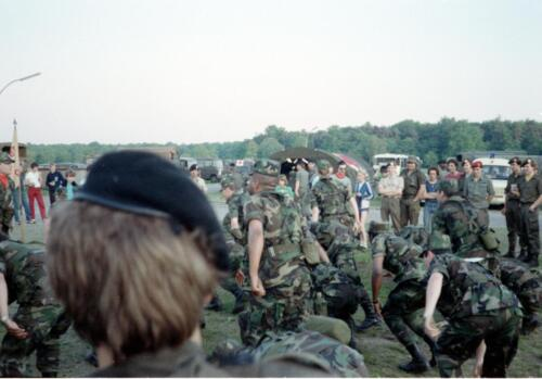 1983 1987 B Esk 103 Verkbat Eskadronssportdag. Inz. Wmr I Jan Pol 100