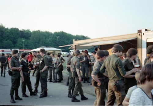 1983 1987 B Esk 103 Verkbat Eskadronssportdag. Inz. Wmr I Jan Pol 101