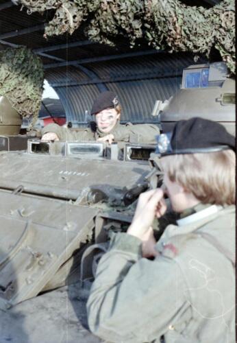 1983 1987 B Esk 103 Verkbat Eskadronssportdag. Inz. Wmr I Jan Pol 102