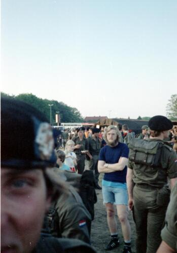 1983 1987 B Esk 103 Verkbat Eskadronssportdag. Inz. Wmr I Jan Pol 103