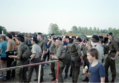 1983 1987 B Esk 103 Verkbat Eskadronssportdag. Inz. Wmr I Jan Pol 104