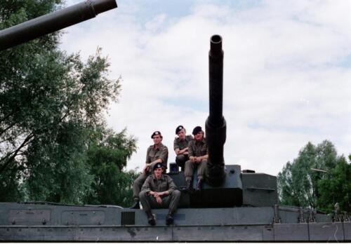 1983 1987 B Esk 103 Verkbat Eskadronssportdag. Inz. Wmr I Jan Pol 81