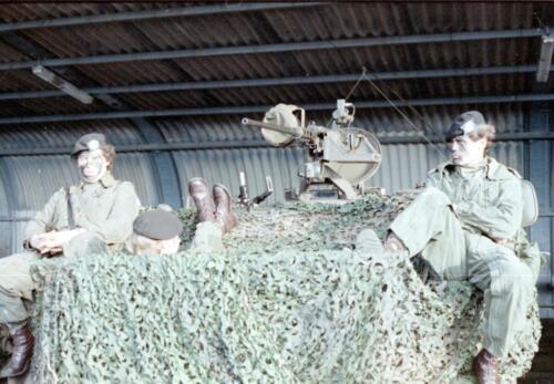 1983 1987 B Esk 103 Verkbat Eskadronssportdag. Inz. Wmr I Jan Pol 90