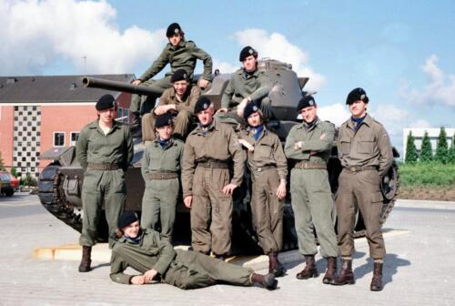 1983 1987 B Esk 103 Verkbat Groeps en vtgbemanningen Chaffee Inz. Wmr I Jan Pol 1